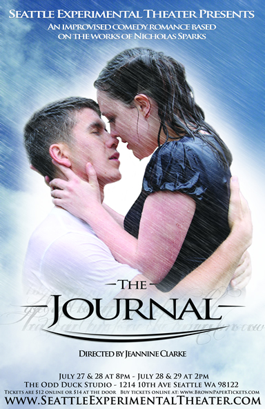 "Poster for the world premiere of ""The Journal"" (2012)"