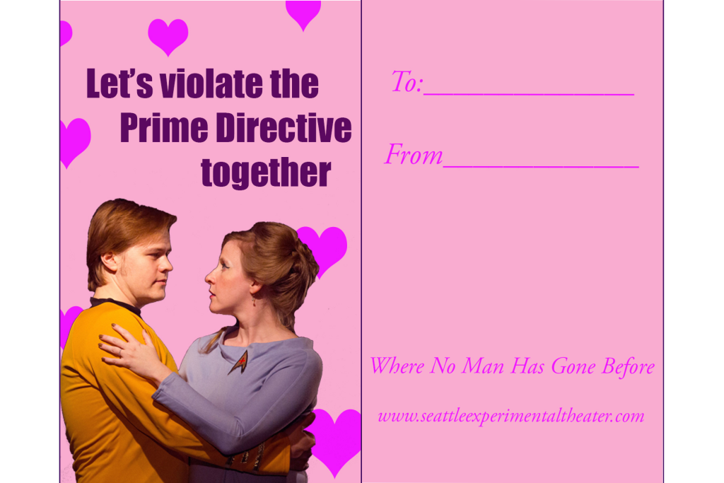 Let's Violate the Prime Directive Together! (Printable on 4x6 paper or larger.)